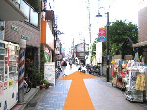 1.京阪古川橋駅の改札を出ます。